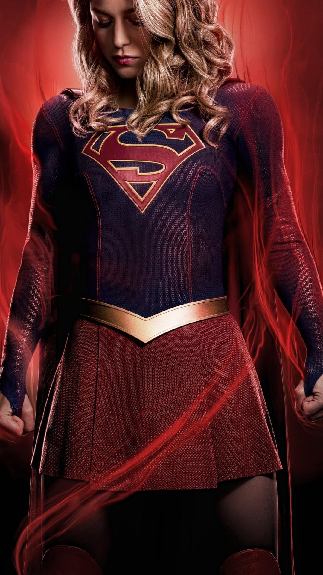 Free Supergirl Season 4 phone wallpaper by livasnap