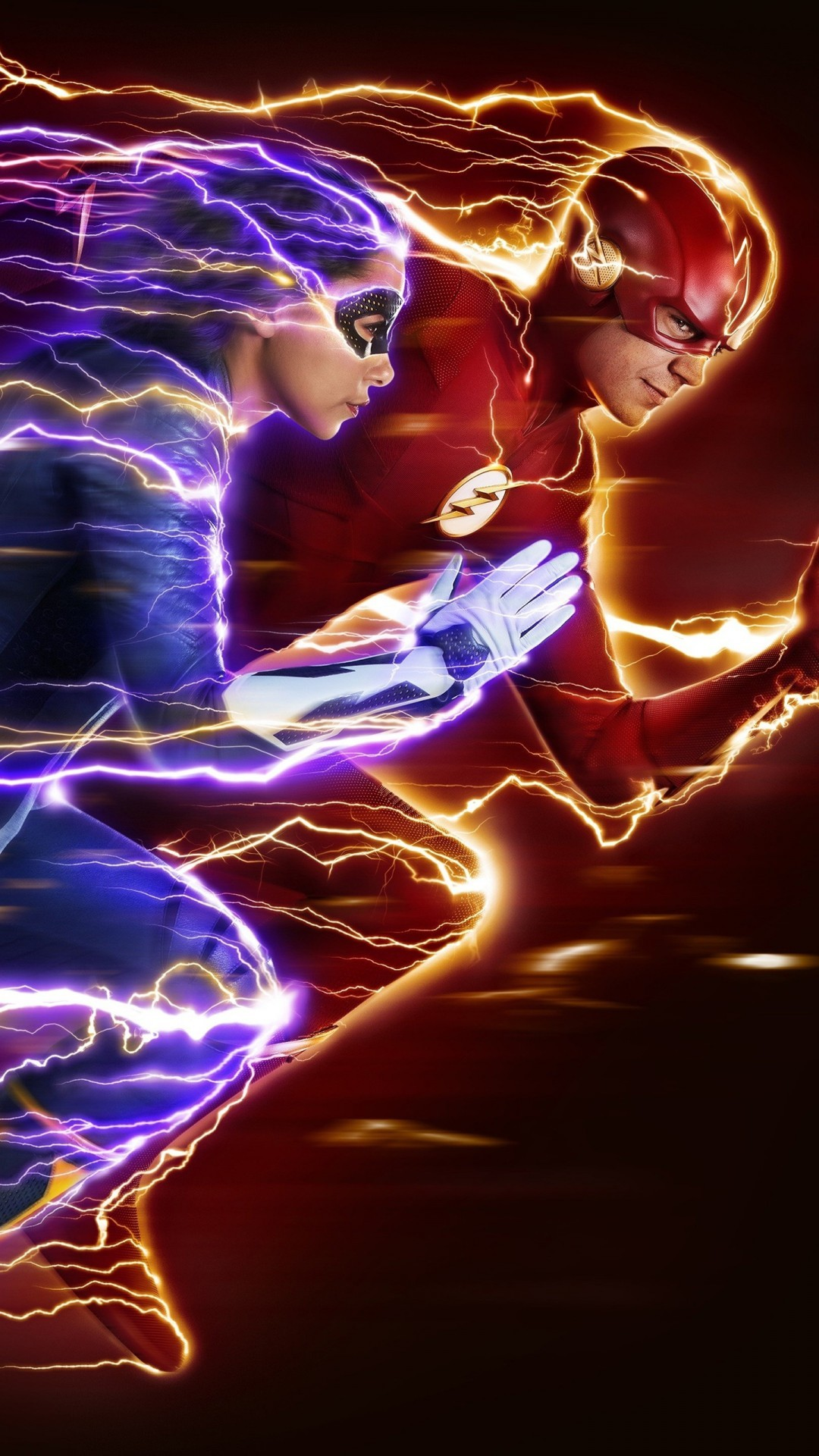 Free The Flash Nora Season 5 phone wallpaper by hoad01