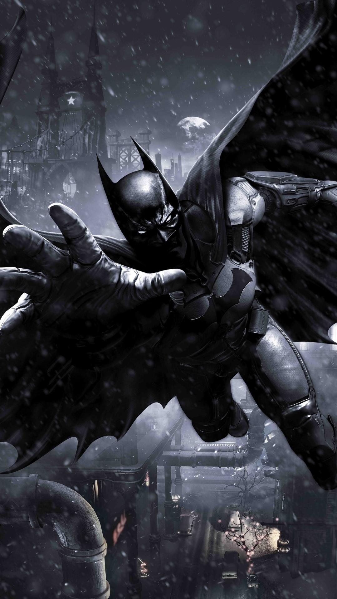 Free Batman Arkham Knight phone wallpaper by shalosky