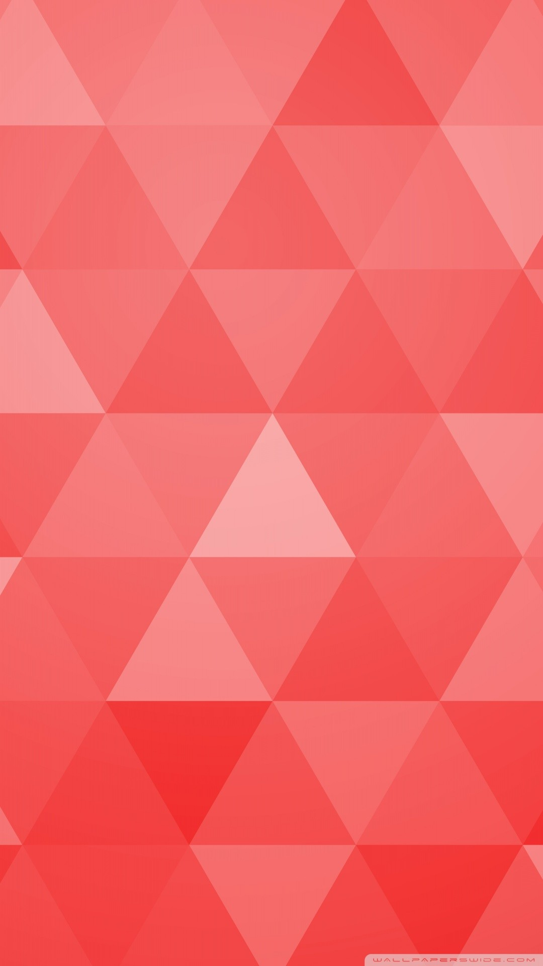 Free Red Abstract Geometric Triangle Background phone wallpaper by jjsamuel