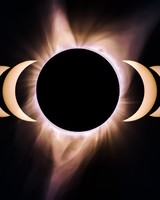 Solar Eclipse Corona Totality