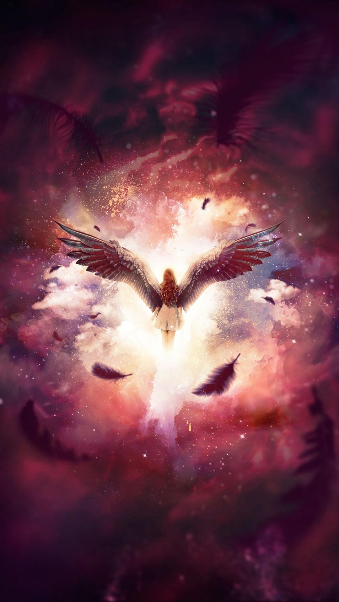Free Angel Wings phone wallpaper by alasker