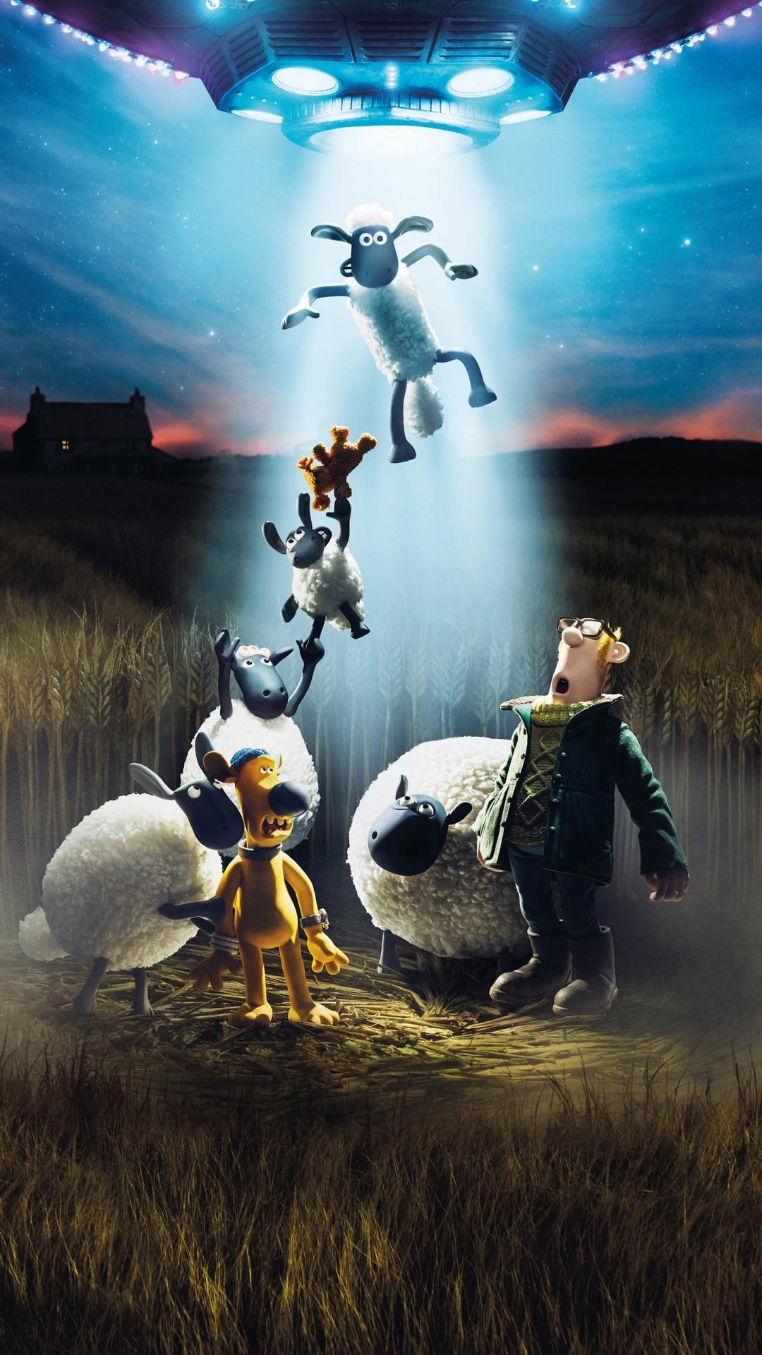 Free Shaun the Sheep Movie Farmageddon phone wallpaper by cvent15