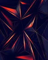 3D Geometric Triangles wallpaper 1