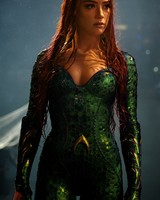 Amher Heard as Mera in Aquaman