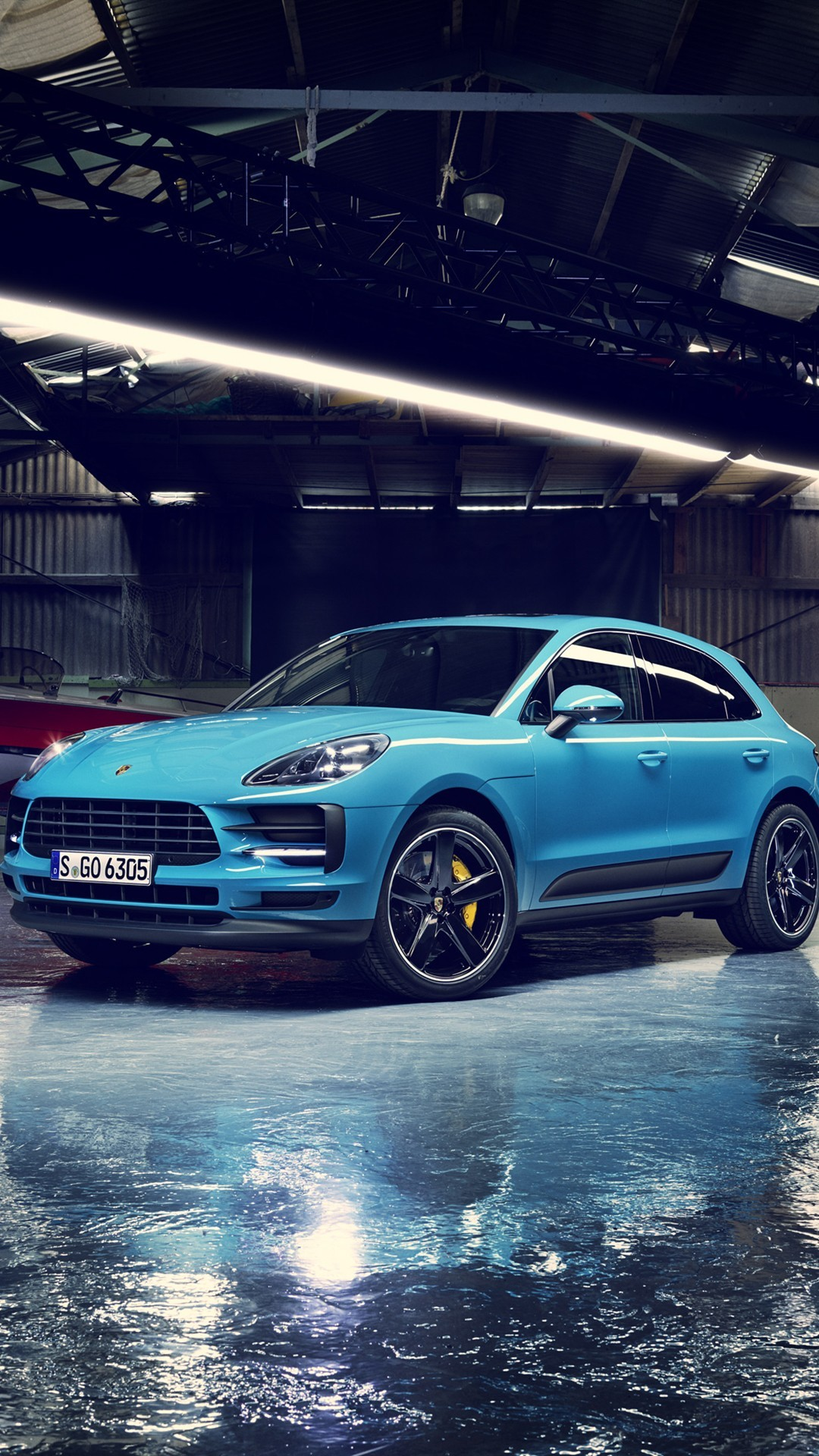 Free Porsche Macan phone wallpaper by niccthebestest