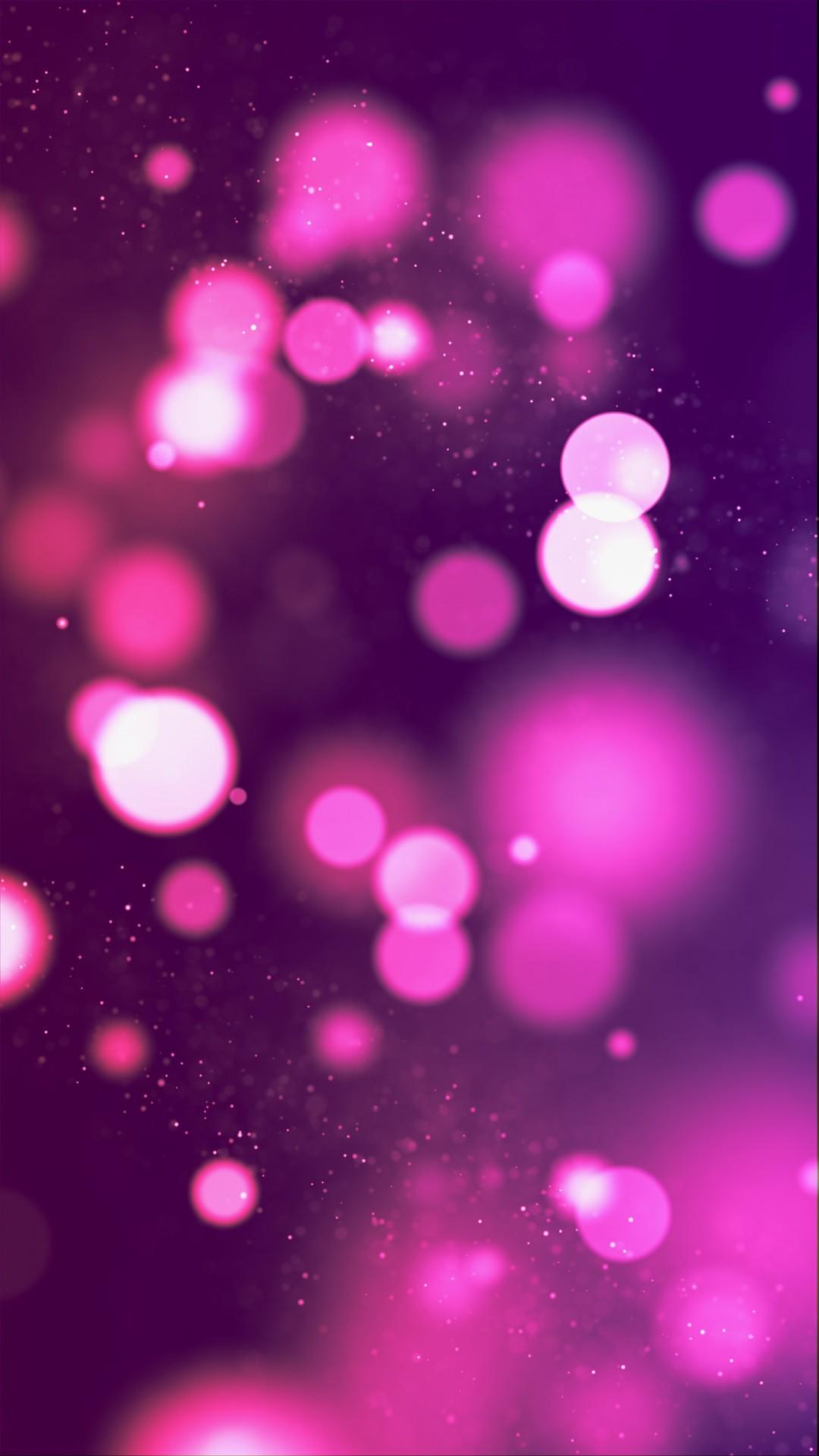 Free Pink Lights Bokeh phone wallpaper by rent23