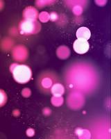 Pink Lights Bokeh