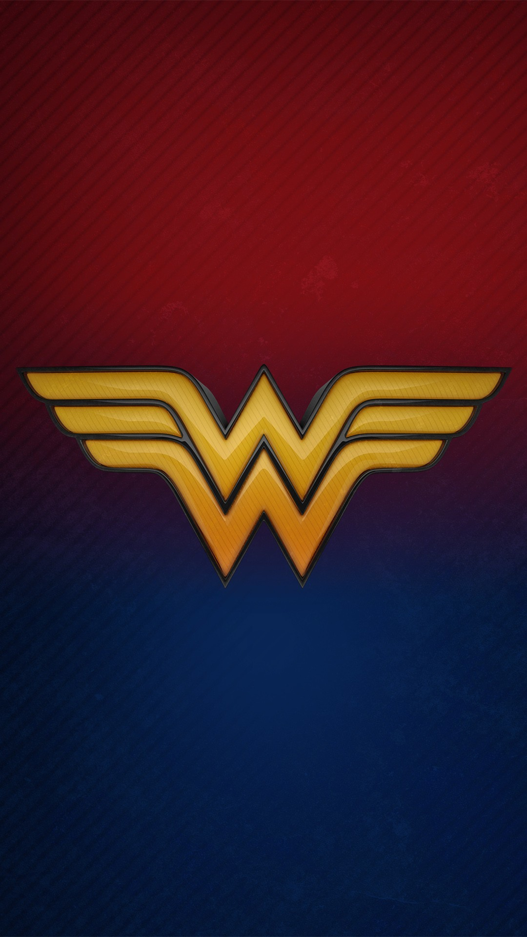 Free Wonder Woman 3D Logo phone wallpaper by tyrap95