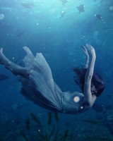 Girl Underwater Dream