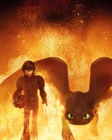 Hiccup Toothless How to Train Your Dragon 3