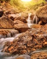 Glen Alpine Falls in California