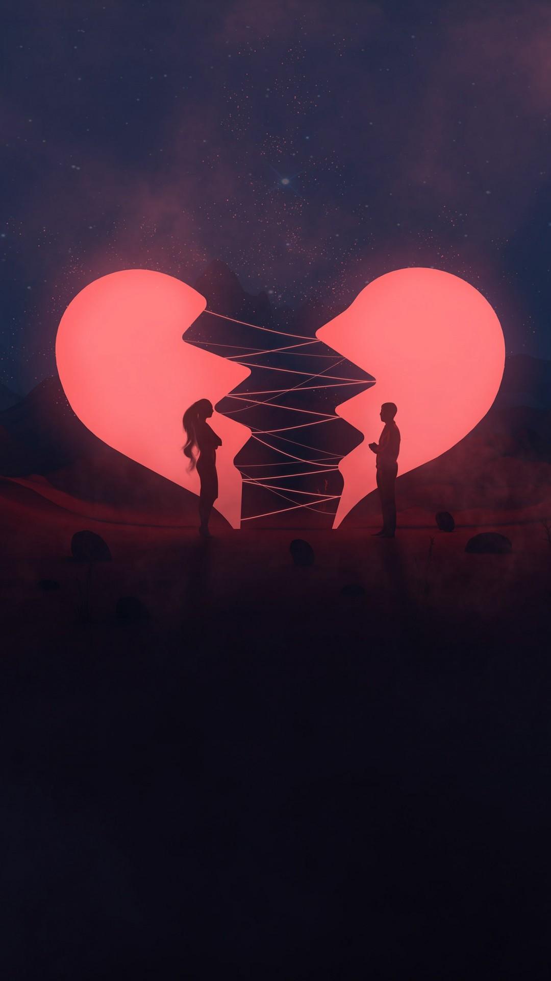 Free Broken Heart phone wallpaper by jazzking