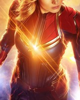 Brie Larson as Captain Marvel wallpaper 1