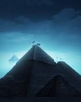 Surreal Pyramids