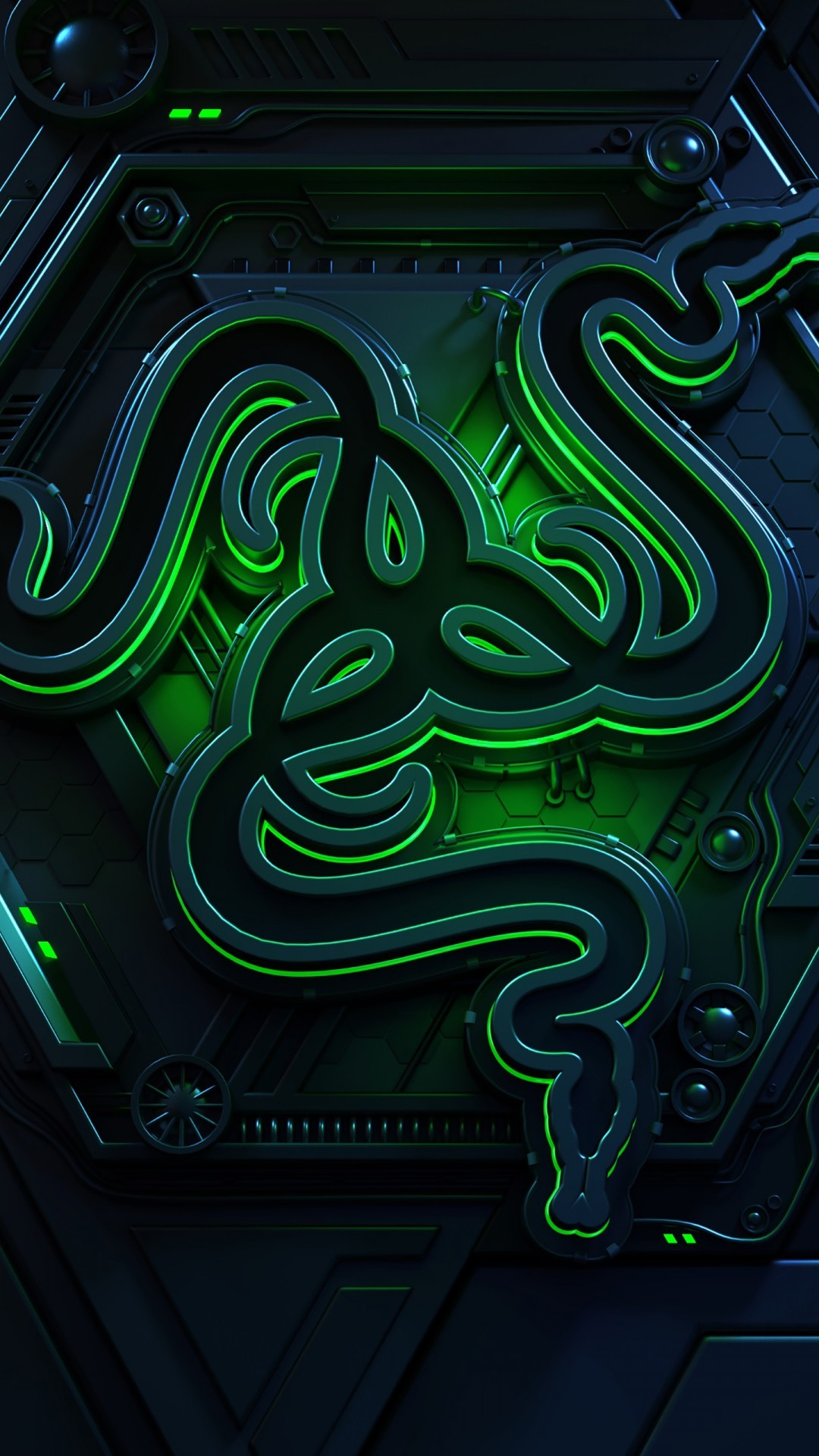 Free Razer Logo phone wallpaper by abygail