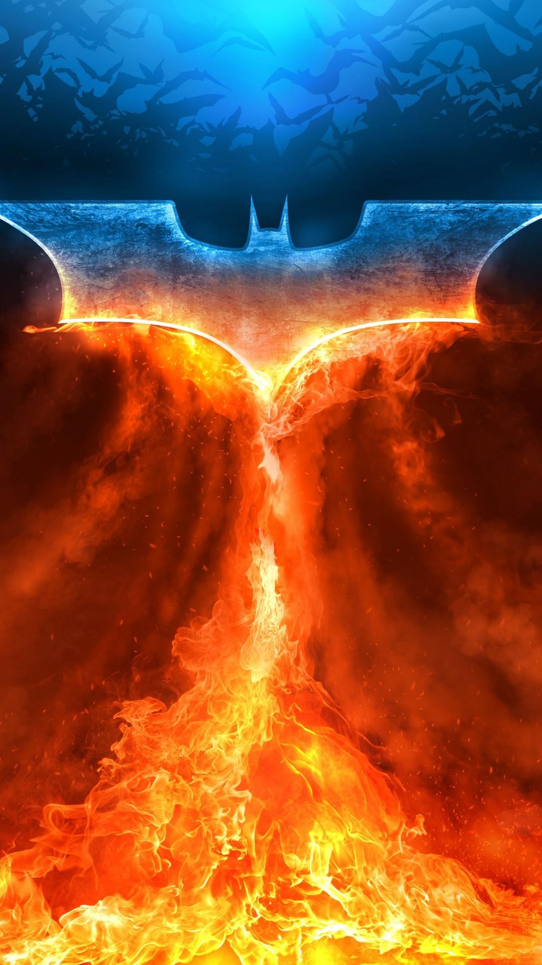 Free Batman Logo phone wallpaper by bethblaylock