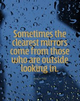 Clearest Mirrors Quote