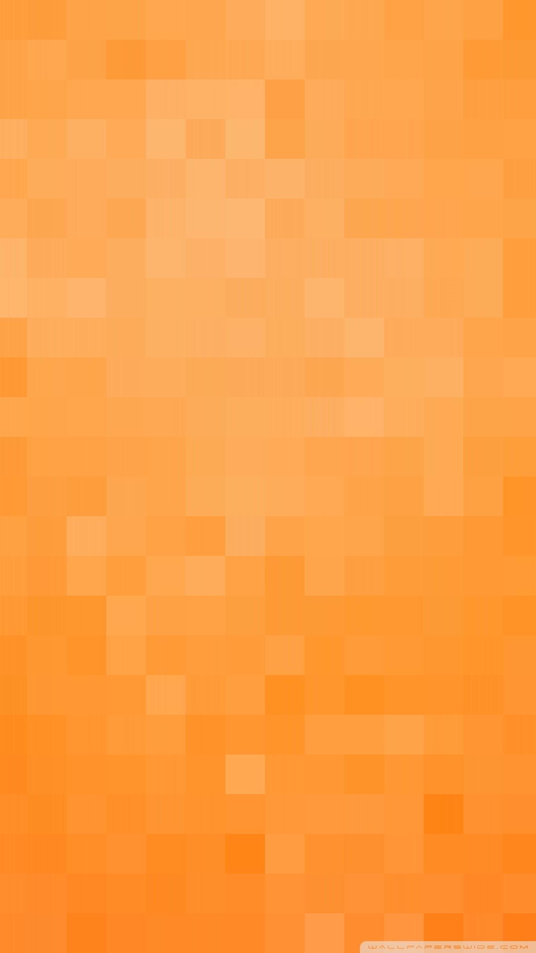 Free Orange Pixels Background phone wallpaper by shawnabaxter