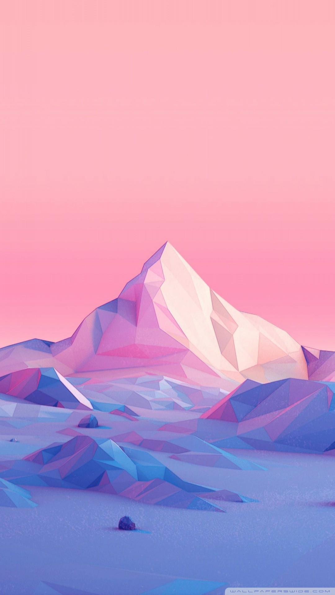Free Lowpoly, Mountains, Landscape phone wallpaper by ladybug7894