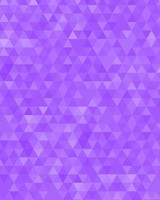 Violet Geometric Triangles Pattern