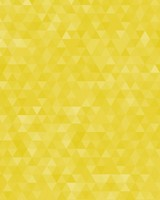 Yellow Geometric Triangles Pattern