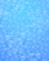 Light Blue Geometric Triangles Pattern