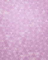 Light Purple Geometric Triangles Pattern
