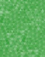 Green Geometric Triangles Pattern