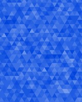 Dark Blue Geometric Triangles Pattern
