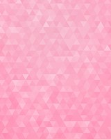 Pink Geometric Triangles Pattern