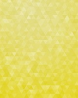 Yellow Geometric Triangles Pattern Gradient
