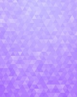 Violet Geometric Triangles Pattern Gradient