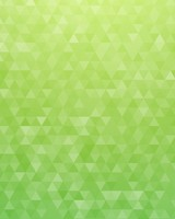 Vivid Green Geometric Triangles Pattern
