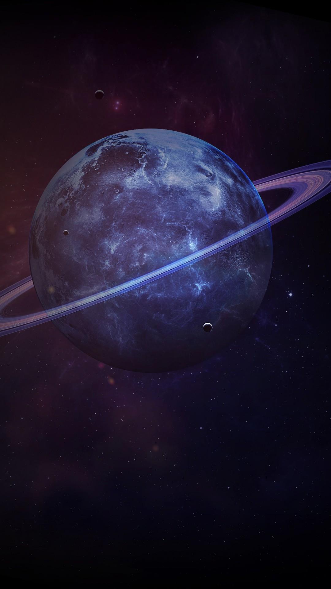 Free Saturn Planet Dark phone wallpaper by will692003