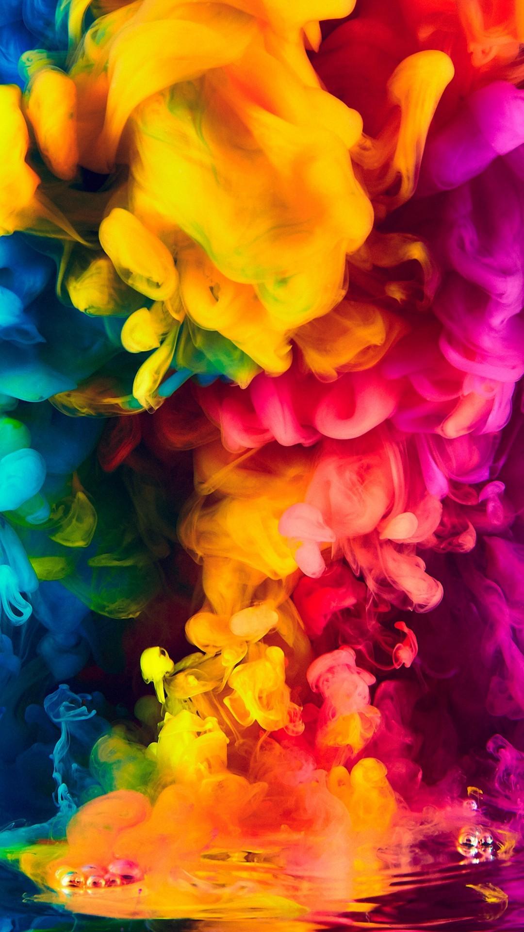 Free Colorful Smoke phone wallpaper by xatlas48x
