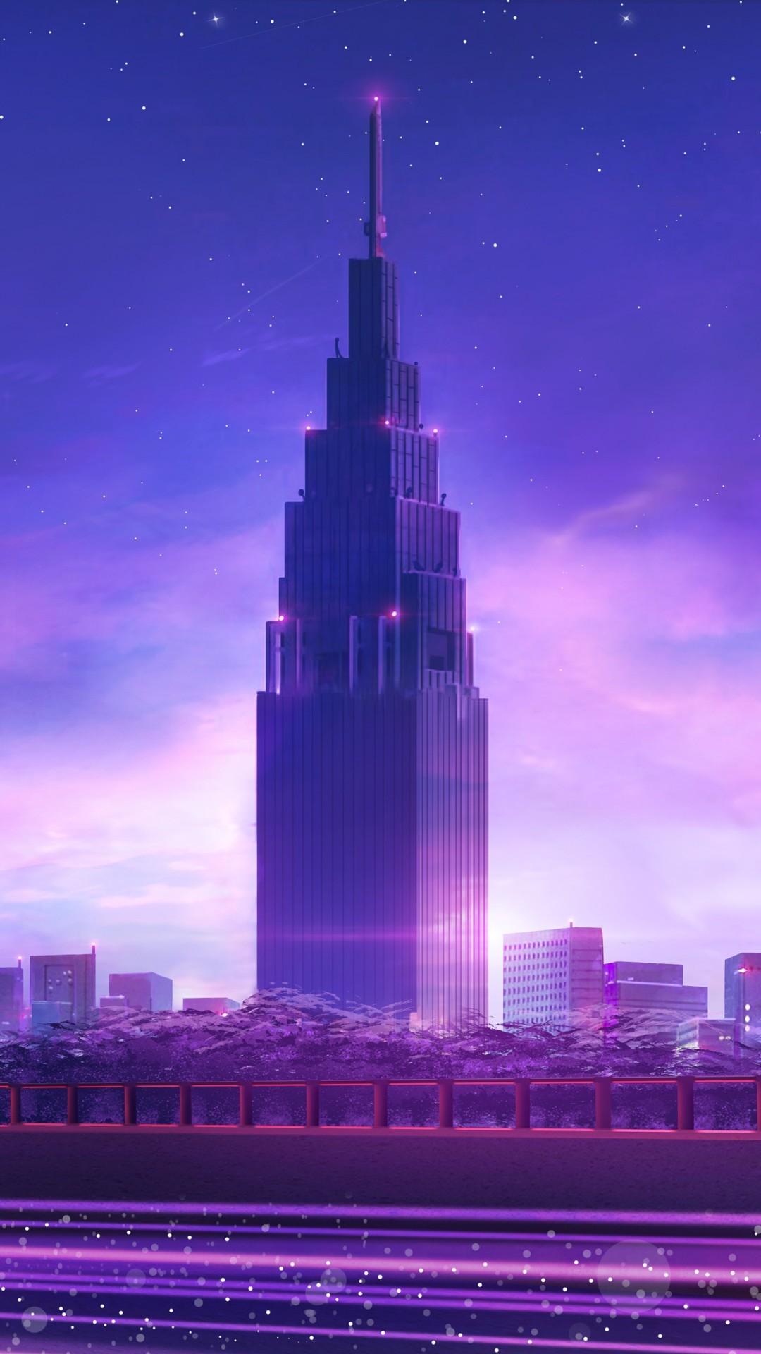 Free Cityscape phone wallpaper by xxxryanbarbeexxx