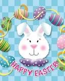 Free Bunnies Happy Easter Wish.jpg phone wallpaper by amandug