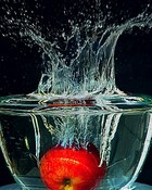Apple Bobbing-Award Winning Photographs