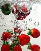 Strawberry Splash-Award Winning Photographs