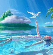 Free beach fantasy.jpg phone wallpaper by raven220