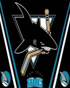 San Jose Sharks Black wallpaper 1