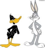 Free bugs n daffy.jpg phone wallpaper by cacique