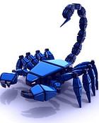 Blue Scorpion wallpaper 1