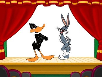 Free Looney Tunes-Bugs Bunny & Daffy Duck.JPG phone wallpaper by cacique