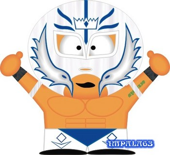 Free WWE - Rey Mysterio White Mask (South Park).jpg phone wallpaper by cacique