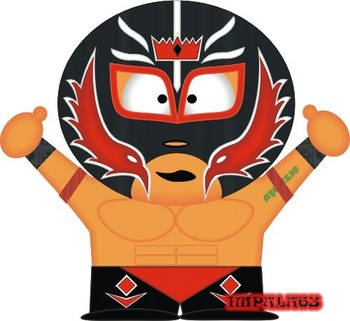Free WWE South Park Rey Mysterio Jr. #1.jpg phone wallpaper by cacique
