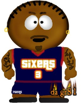 Free south park version of allen iverson.jpg phone wallpaper by cacique