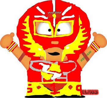 Free WWE South Park Rey Mysterio.JPG phone wallpaper by cacique