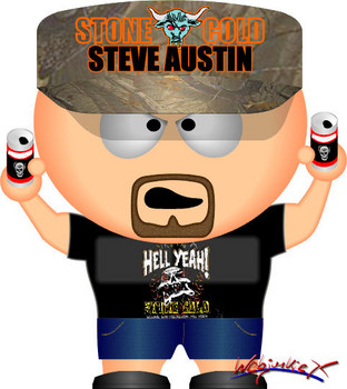Free WWE South Park Stone Cold Steve Austin #3.jpg phone wallpaper by cacique